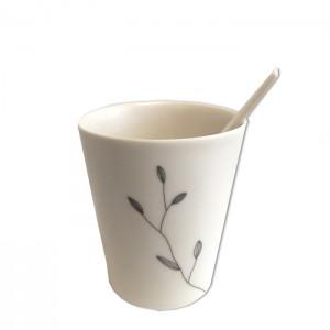 Tasse à café Feuilles