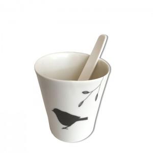 Tasse à café Oiseau
