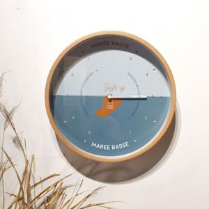 Horloge des marées Surf's up