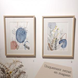 Grand cadre botanique
