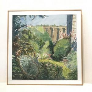 "Aquarelle ""Mon jardin Morlaisien"""