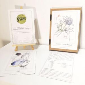 Coffret 25 cartes botaniques