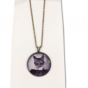 "Collier ""Chat"""
