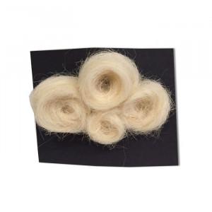 Broche Nuage en laine