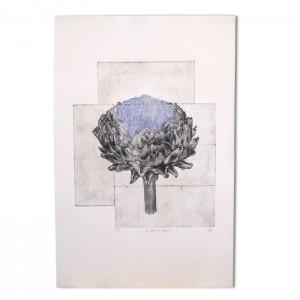"""Grande gravure """"Le lotus du Trégor"""""""