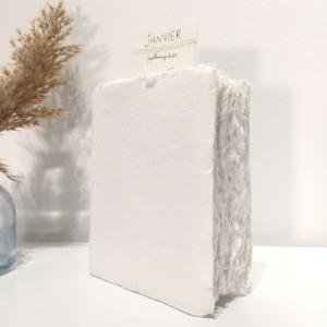 Carnet blanc