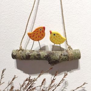 Oiseaux sur branche (4 modèles)
