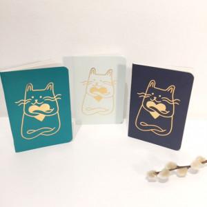 Petit carnet Coeur de chat