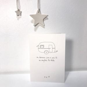 Carte caravane