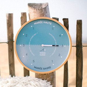 Horloge de marée Shore break